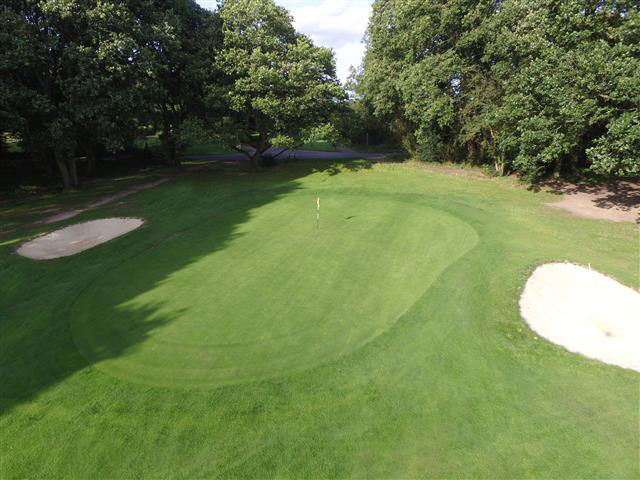 4th green, Ley Hill Golf Club