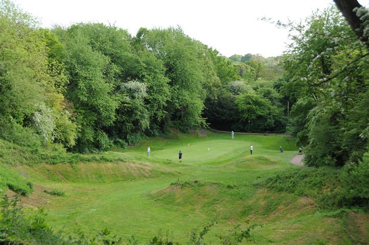 3rd hole, Ley Hill Golf Club