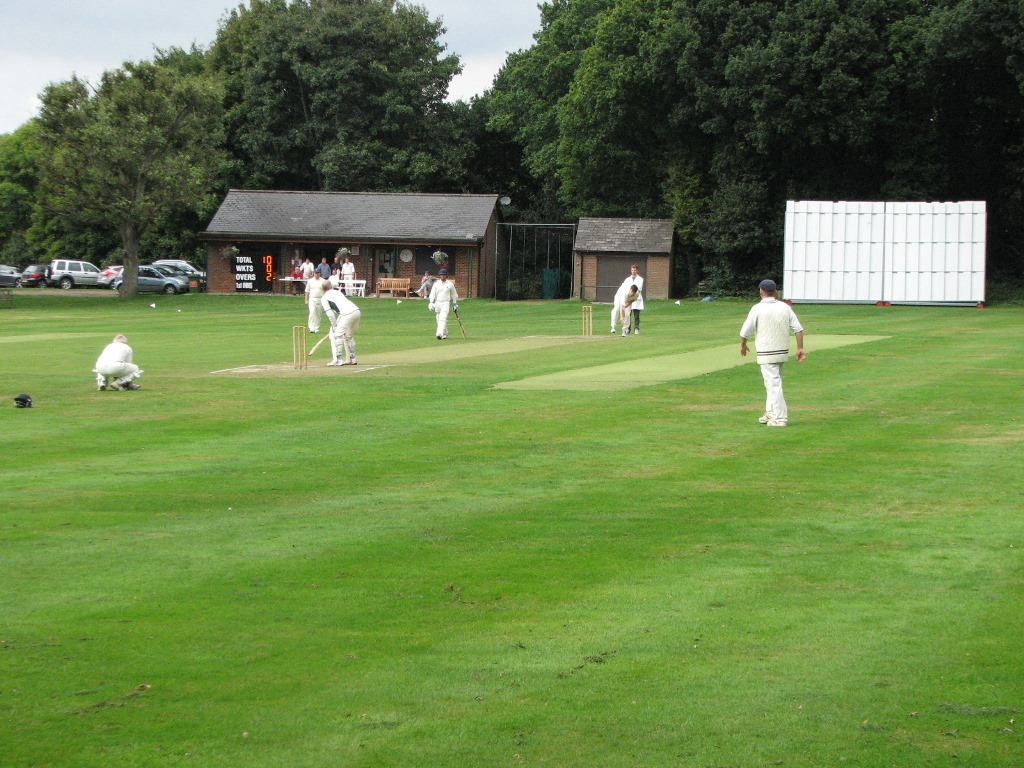 Ley Hill cricket match